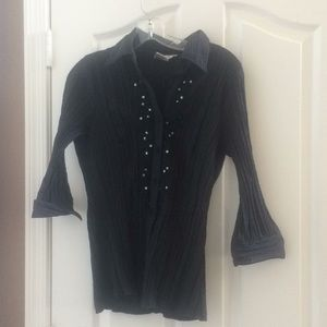 Ladies Fred David blouse large